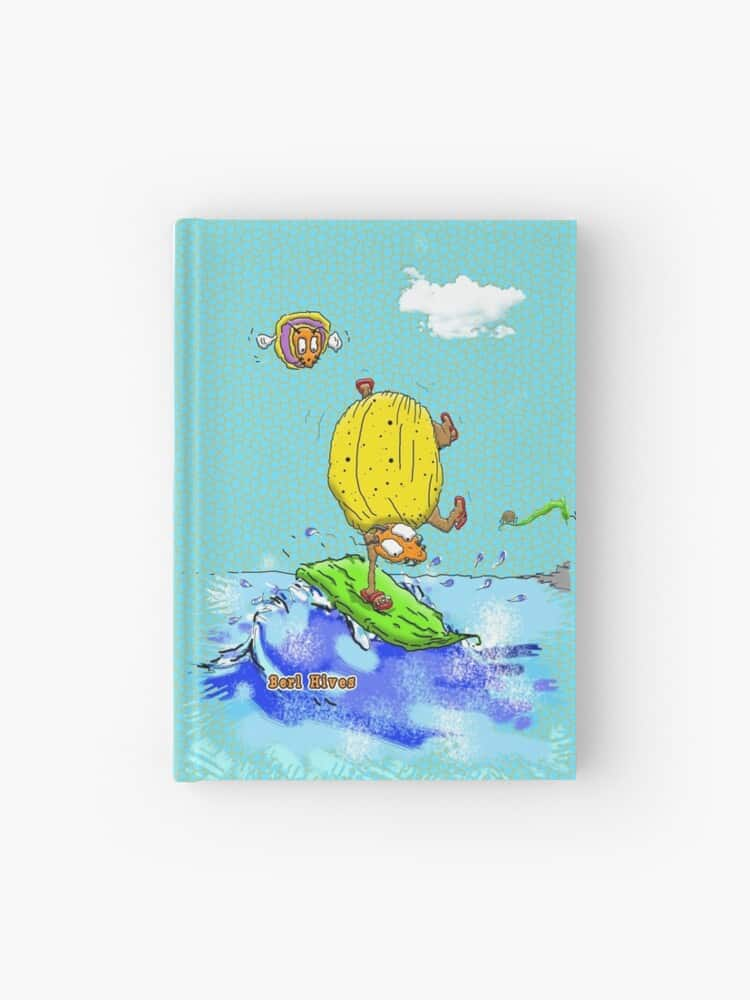 Berl-Hives-Dont-Bug-Me-Im-Catchin-a-Wave-Journal