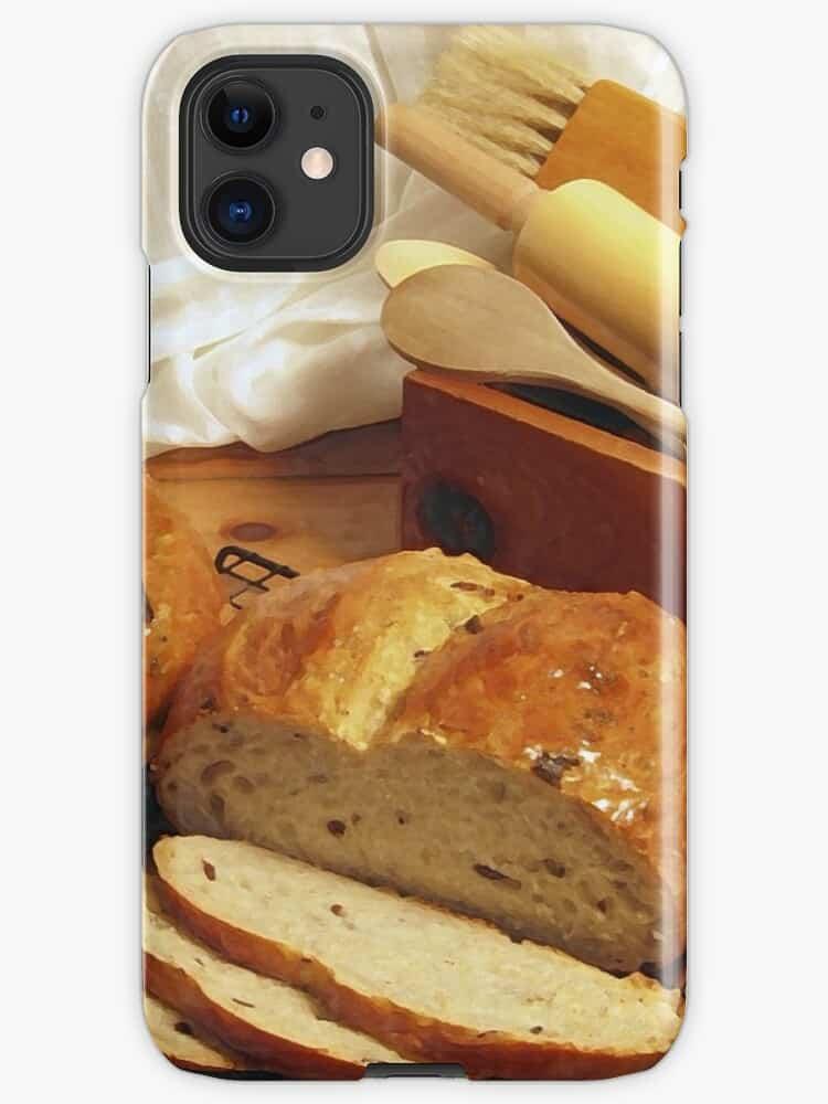 Bread theme phone skin