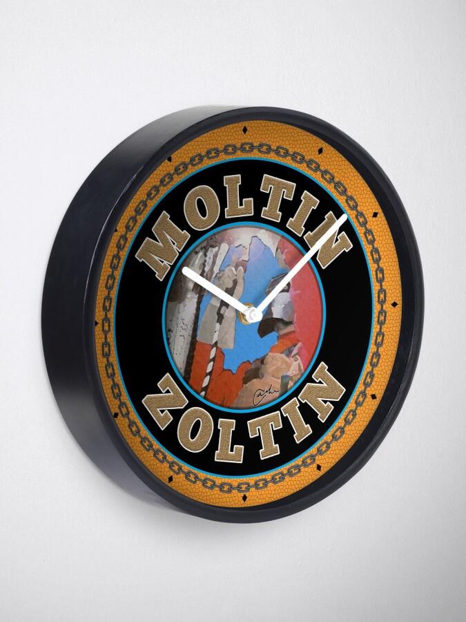 Moltin Zoltin clock